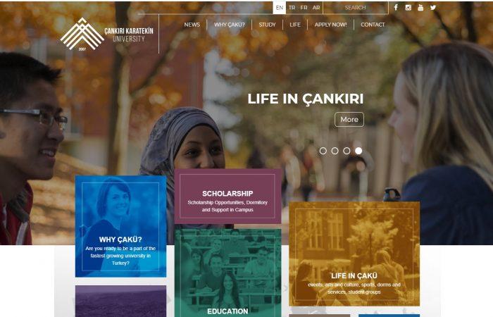 Hapet thirrja për aplikime për studentët në Universitetin Cankiri Karatekin, në Turqi, në kuadër të Programit Erasmus +, për semestrin e parë të vitit akademik 2021-2022.
