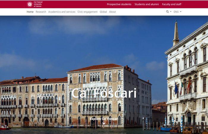 Hapet thirrja për bursa në programin Erasmus + në Universitetin Ca' Foscari të Venecias në Itali për semestrin e parë të vitit akademik 2021-2022.