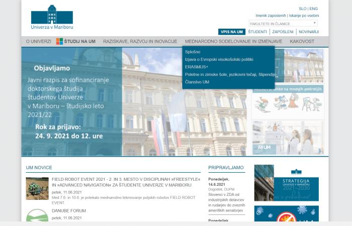 Hapet thirrja për aplikime për trajnim online në Universitetin e Mariborit, Slloveni, për stafin me kohë të plotë të Universitetit të Tiranës.