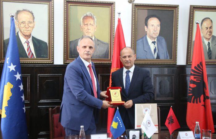 Takimi mbi nënshkrimin e marrëveshjes ne Prishtinë