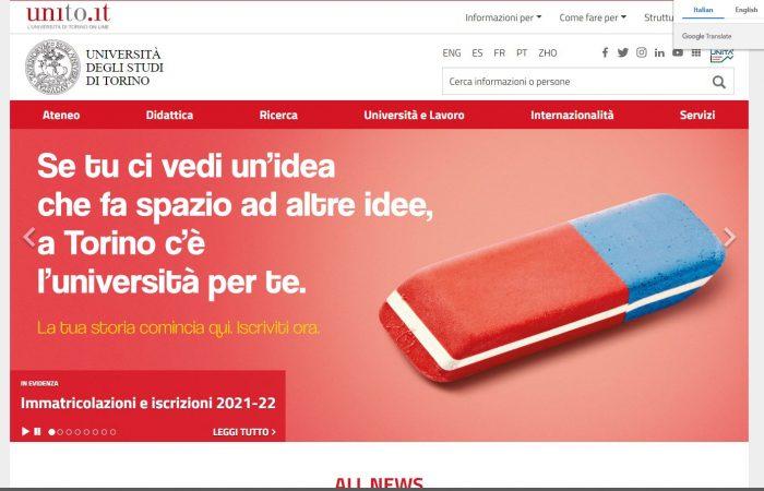 Hapet thirrja për aplikime për studentët e Universitetit të Tiranës në Universitetin e Torinos, në Itali, në kuadër të programit Erasmus +, për semestrin e dytë të vitit akademik 2021-2022.