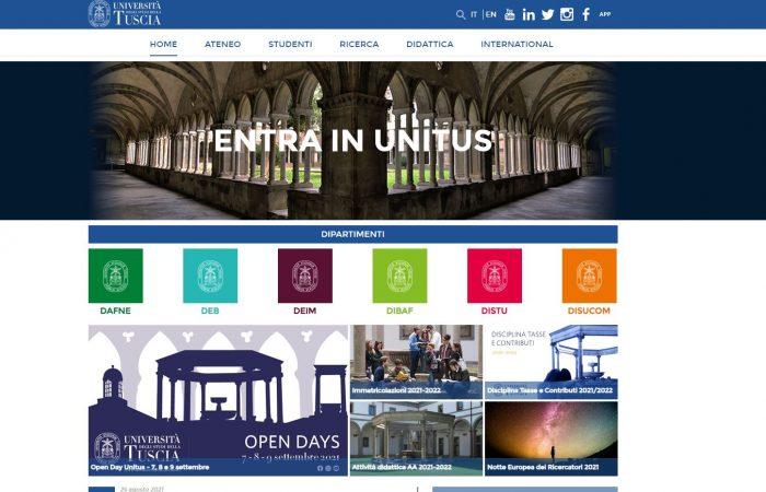 Universiteti i Tuscia në Itali na informon se ka hapur thirrjen në kuadër të programit 'SeedTalent' UNITUS.