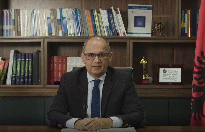 Mesazhi i Rektorit të UT për fillimin e vitit të ri akademik 2020-2021